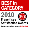 Best in Category - Franchise Satisfaction Awards