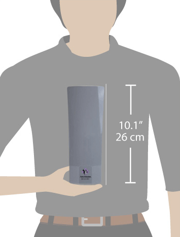 Scale of D1000 air freshener