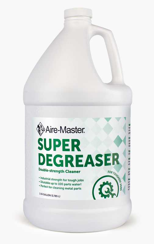 Aire-Master Super Degreaser concentrated cleaner