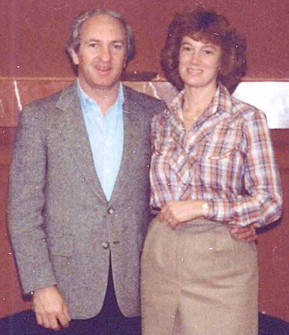 Warren and Joan Ott 1981