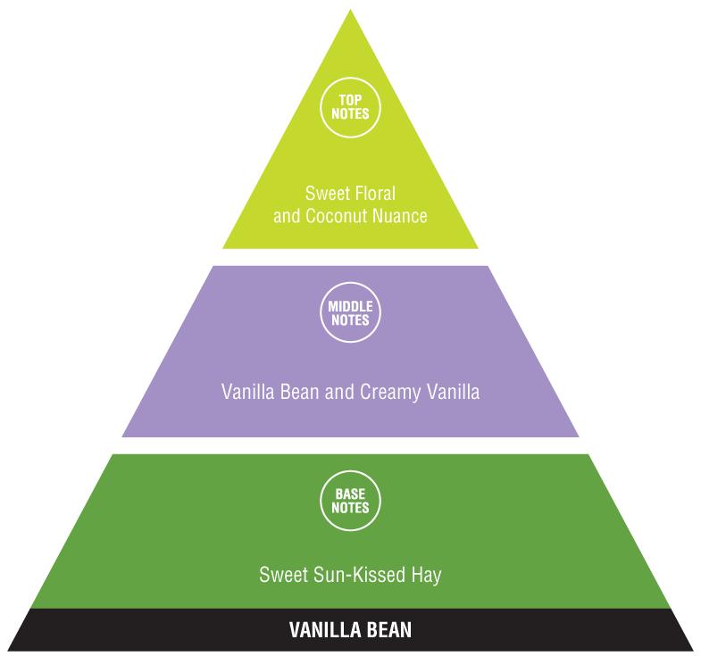 Vanilla Bean (calming fragrances)