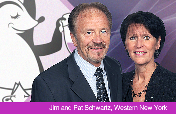Jim and Pat Schwartz, Aire-Master of Western New York