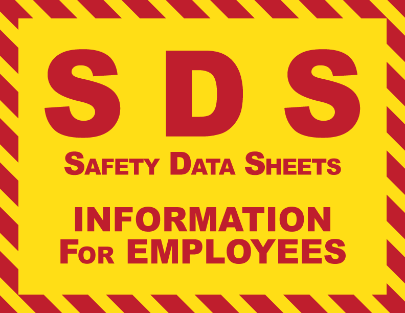 SDS - safety data sheets