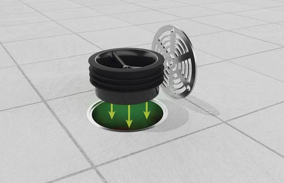 Green Drain trap seal