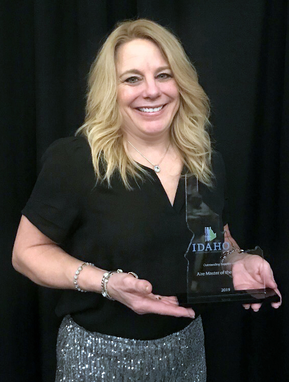 Patty Thies, Idaho Apt Association award