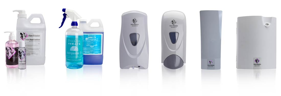 Aire-Master dispensers and products