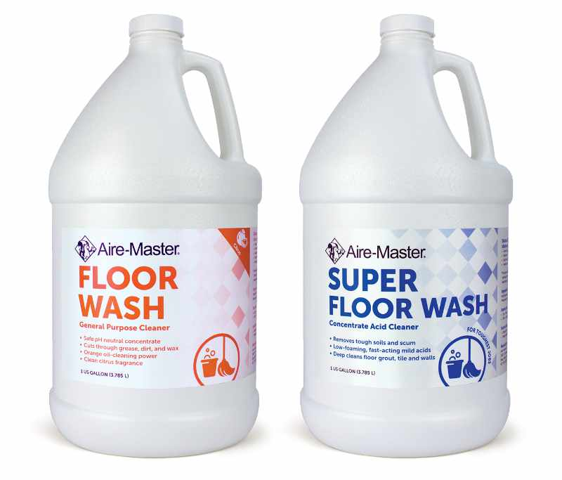 Aire-Master Floor Wash, Super Floor Wash