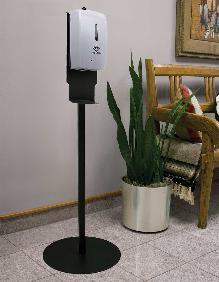 Aire-Master hand sanitizer dispenser floor stand