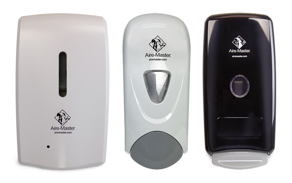 Aire-Master Hand Sanitizer Dispensers