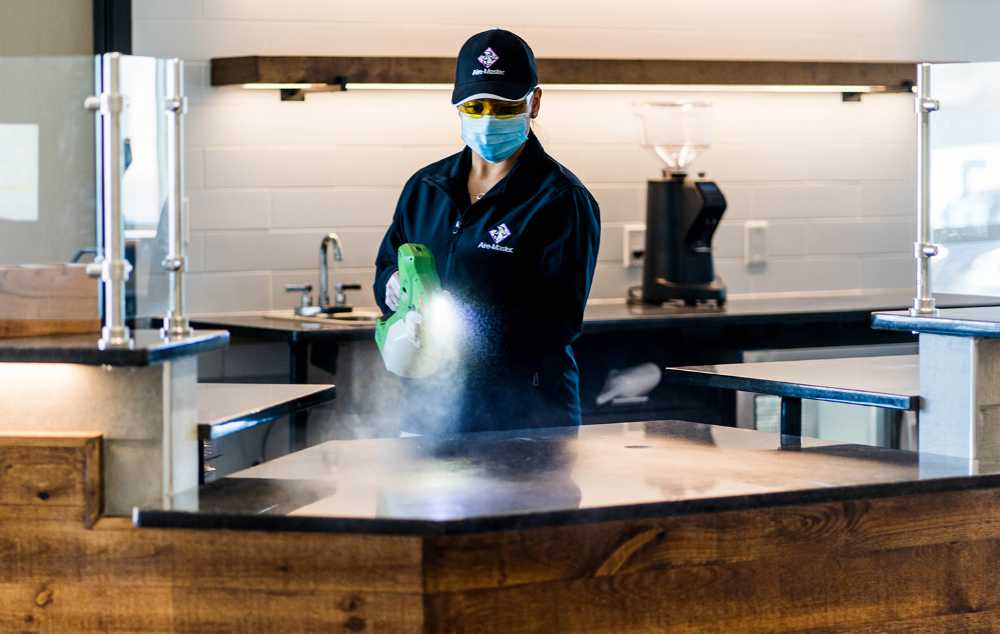 Electrostatic Disinfecting Service